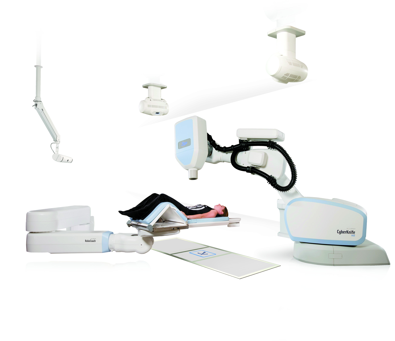 CyberKnife VSI suite with patient