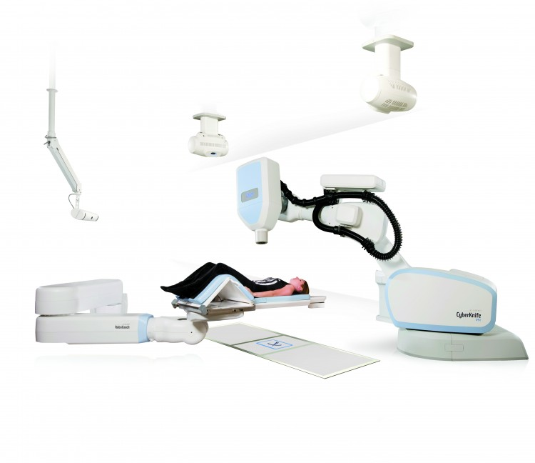 CyberKnife VSI suite with patient1 e1435157151823